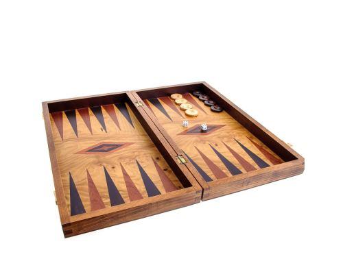 Τάβλι από Ξύλο Ελιάς - Χωρίς θήκες, Μικρό, Εσωτερικό