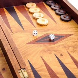Τάβλι από Ξύλο Ελιάς - Χωρίς θήκες, Μικρό, Εσωτερικό 2