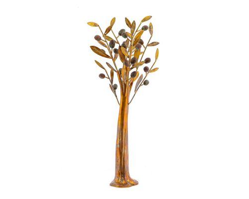 Δέντρο Ελιάς - Μεταλλικό Διακοσμητικό, Καφέ
