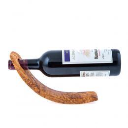 Βάση Κρασιού από Ξύλο Ελιάς - Μονή