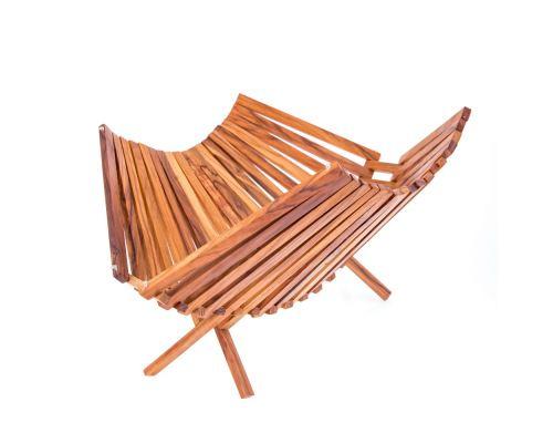 Olive Wood Fruit or Vegetable Basket Handmade, Wooden Folding Display Stand 11' (29cm) 1