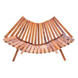Olive Wood Fruit or Vegetable Basket Handmade, Wooden Folding Display Stand 11' (29cm) 2