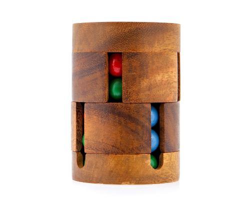 Γρίφος Λογικής - Ξύλινο Παιχνίδι, Μαγικός Κύλινδρος