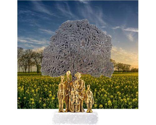 Μεταλλικό Γλυπτό, Το Δέντρο της Ζωής - Μοντέρνο Διακοσμητικό