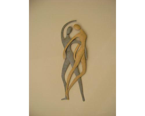 Ζευγάρι Χορευτές - Διακοσμητικό Τοίχου, Μεταλλικό