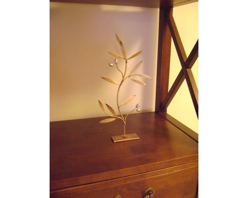 Κλαδί Ελιάς - Μεταλλικό Διακοσμητικό, Χρυσό