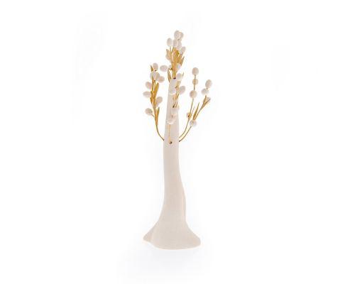 Δέντρο Ελιάς - Κεραμικό Διακοσμητικό, Άσπρο