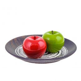 Διακοσμητικό Μήλο - Κεραμικό Φρούτο, Κόκκινο
