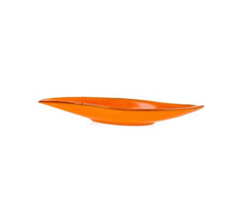 Πιατέλα - Κεραμική Πορτοκαλί, Μικρή