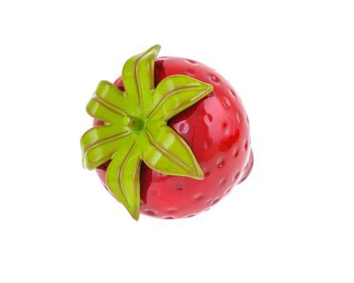 Διακοσμητική Φράουλα - Κεραμική, Κόκκινη