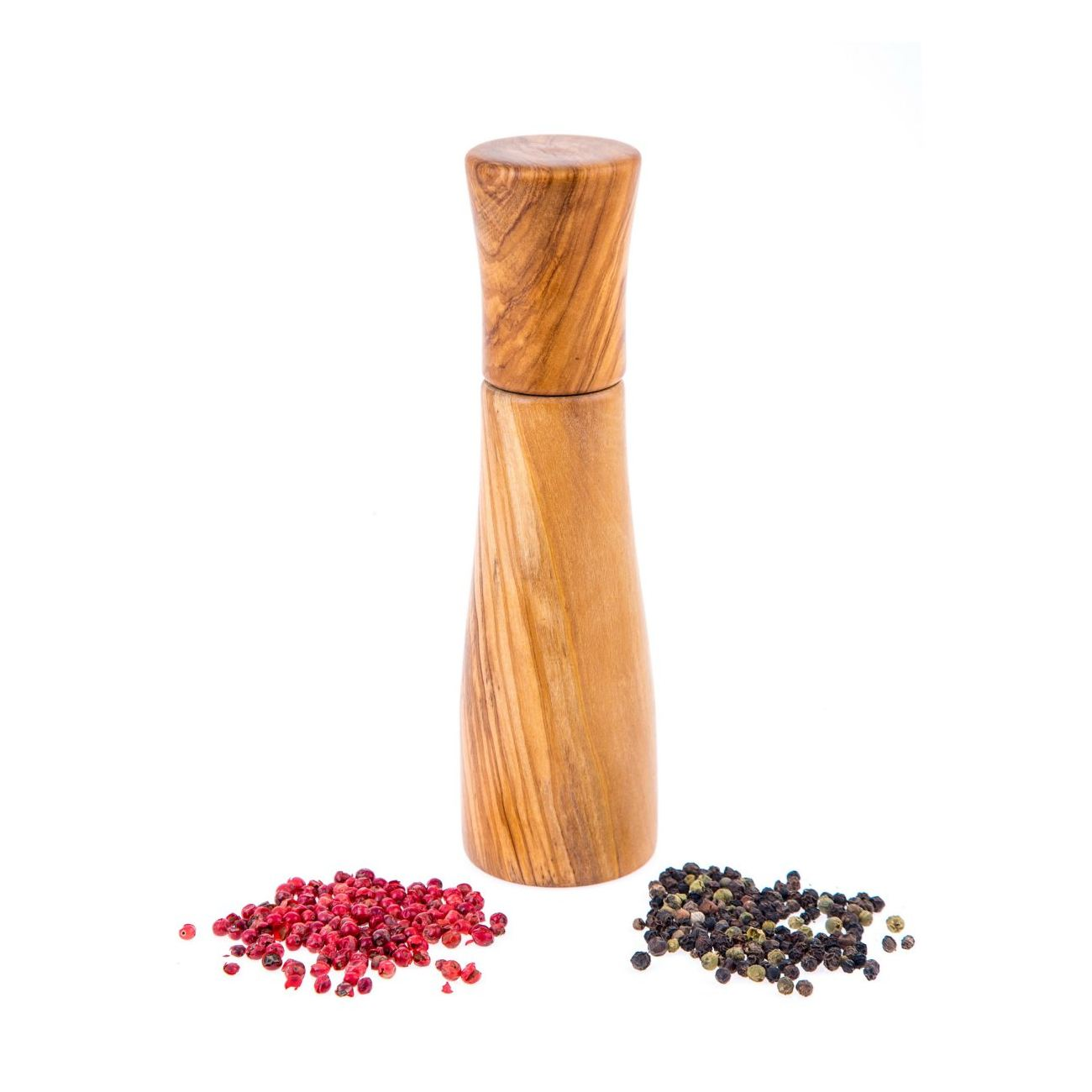 Olive Wood Salt Pepper Mill Or Pepper Grinder Modern Style