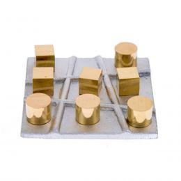 Τρίλιζα - Μεταλλικό Παιχνίδι - Κύβοι & Κύλινδροι