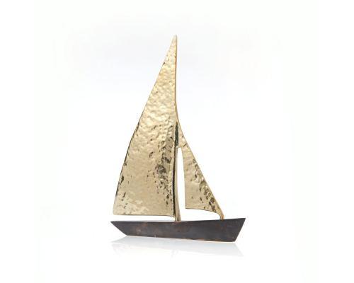 Σετ 3 Διακοσμητικά Καράβια Σφυρήλατα - Μεταλλικά