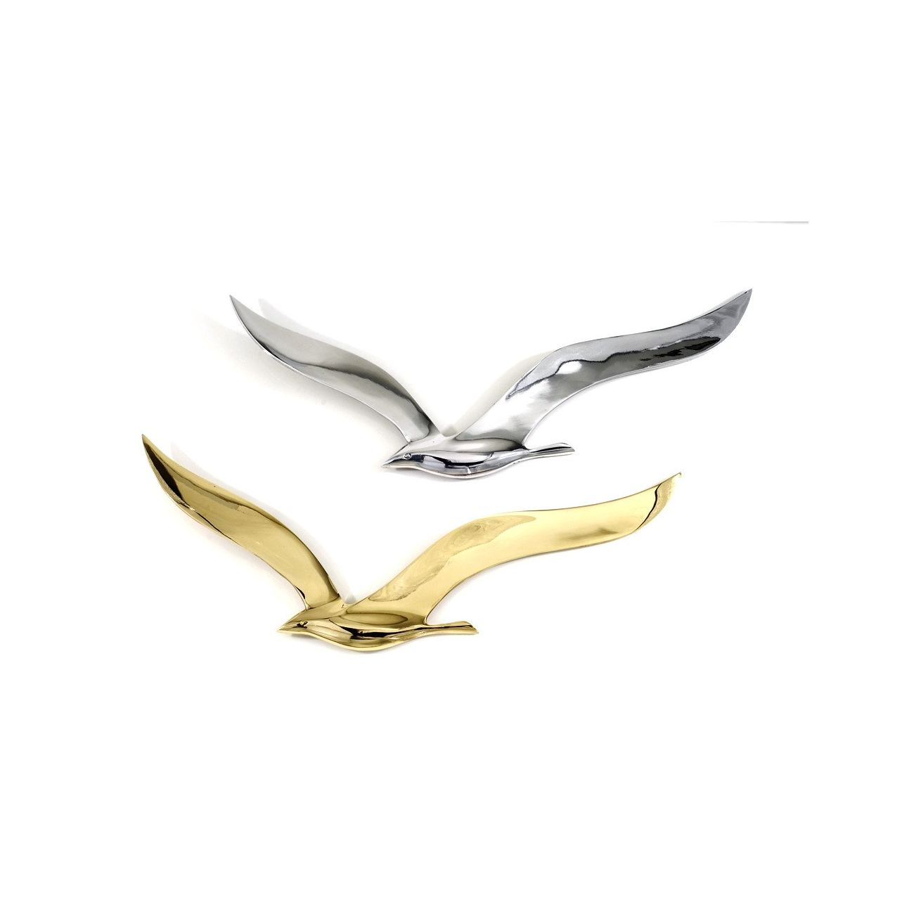 Flying Seagull Bird - Handmade Metal Wall Art Decor - Gold Large 37cm (14.6u0027u0027)  sc 1 st  Elite Crafters & Flying Seagull Bird - Handmade Metal Wall Art Decor - Gold Large ...