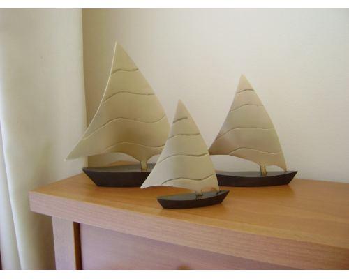 Μεταλλικό Διακοσμητικό - Καράβι, Μεσαίο