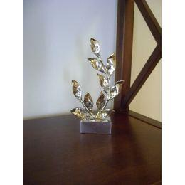 Κλαδί Δάφνης - Μεταλλικό Διακοσμητικό με Βάση