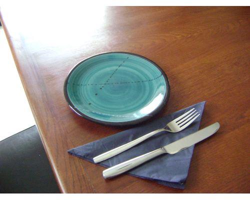 Πιάτο Γλυκού - Κεραμικό, Πράσινο