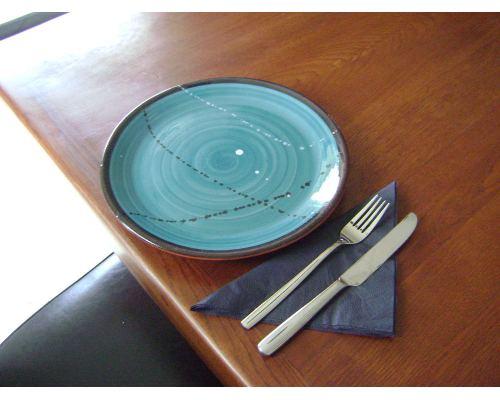 Πιάτο Φαγητού - Κεραμικό, Πράσινο