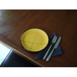 Πιάτο Γλυκού - Κεραμικό, Κίτρινο