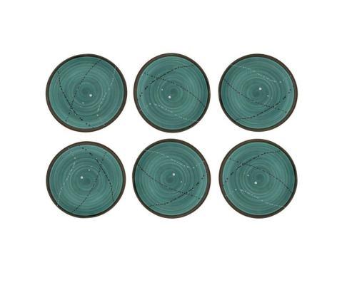 Πιάτα Φαγητού - Σετ 6 Κεραμικά, Πράσινα