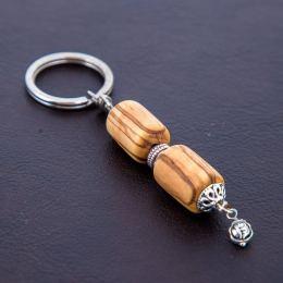 Μπρελόκ για Κλειδιά από Ξύλο Ελιάς