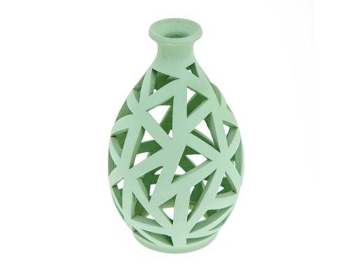 Φαναράκι Διακοσμητικό για Ρεσώ - Κεραμικό, Πράσινο, Μικρό