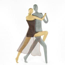 Ζευγάρι Χορευτές Tango - Μεταλλικό Διακοσμητικό Τοίχου (50cm)