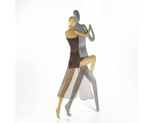 Ζευγάρι Χορευτές Tango - Μεταλλικό Διακοσμητικό Τοίχου