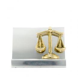 Σετ Γραφειου 3 τεμ. - Ζυγός Θέμιδος (Σύμβολο Δικαιοσύνης) Καρτοθήκη, Πρες Παπιέ, Μολυβοθήκη