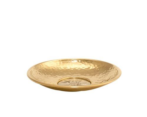 Σφυρήλατο Διακοσμητικό Πιάτο – Ήλιος της Βεργίνας