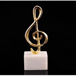 Μεταλλικό Γλυπτό Διακοσμητικό – Μουσικό Κλειδί του Σολ (21cm)