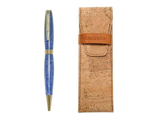 """Στυλό Διαρκείας, Χειροποίητο από Μπλέ Ρητίνη, Σειρά """"Hermes"""""""