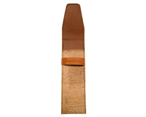 Natural Cork & Leather Soft Case