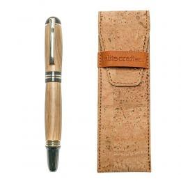 """Πένα Γραφής, Χειροποίητη από Ξύλο Ελιάς - Σειρά """"Praxis"""""""