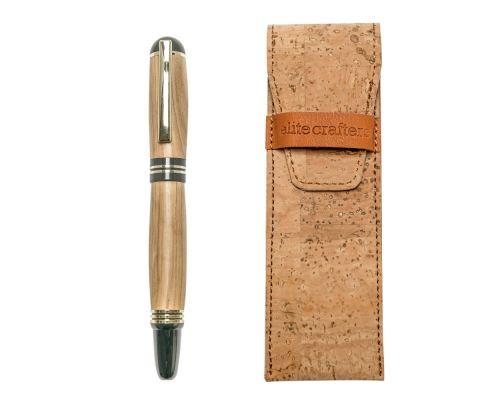 """Στυλό Διαρκείας, Χειροποίητο από Ξύλο Ελιάς, Σειρά """"Praxis"""""""