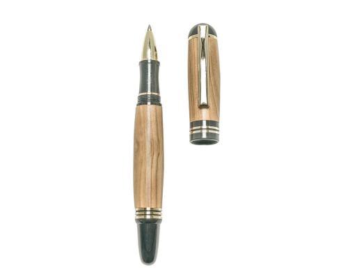 """Στυλό Διαρκείας, Χειροποίητο από Ξύλο Ελιάς, Σειρά """"Praxis"""", 2"""