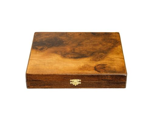 Σκάκι απο Ξύλο Ελιάς σε Ξύλινο Κουτί 7A