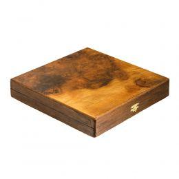 Σκάκι απο Ξύλο Ελιάς σε Ξύλινο Κουτί 2A