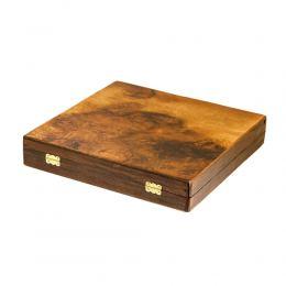 Σκάκι απο Ξύλο Ελιάς σε Ξύλινο Κουτί 6A