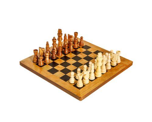 Σκάκι απο Ξύλο Ελιάς σε Ξύλινο Κουτί 3A