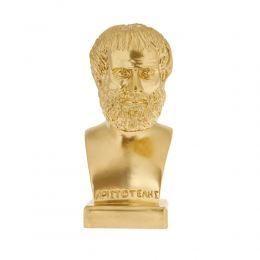 Άγαλμα, Αριστοτέλης Προτομή, 24 cm, Χρυσό