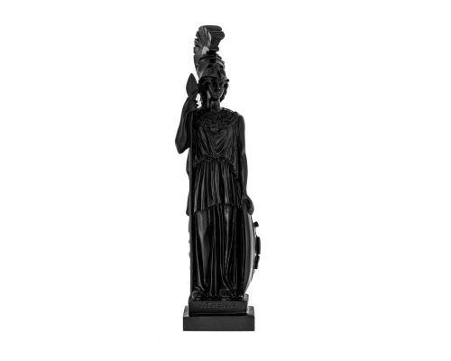 Άγαλμα Θεά Αθηνά, 26 cm, Μαύρο