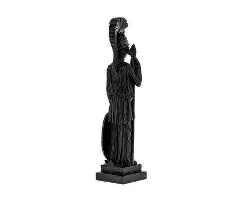 Άγαλμα Θεά Αθηνά, 26 cm, Μαύρο 1