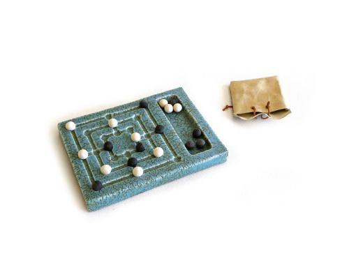 Τρίλιζα Εννιάρα - Κεραμικό Επιτραπέζιο Παιχνίδι - Συλλεκτικό