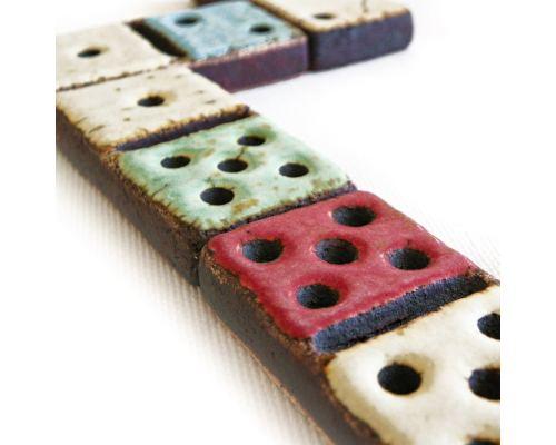 Ντόμινο - Κεραμικό Επιτραπέζιο Παιχνίδι - Συλλεκτικό, Έκδοση Διπλά Εξάρια