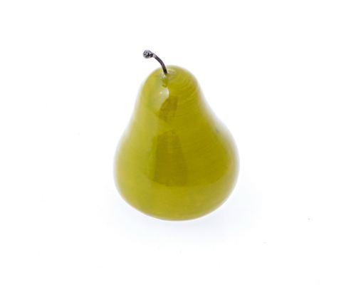 Διακοσμητικό Αχλάδι, Κεραμικό Φρούτο, Πράσινο