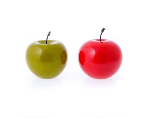 Διακοσμητικό Μήλο - Κεραμικό Φρούτο, 2 χρώματα