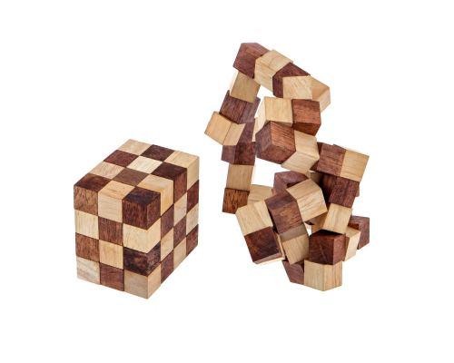 Γρίφος Λογικής - Ξύλινο Παιχνίδι, Μαγικός Κύβος