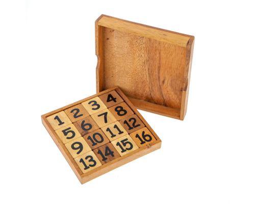 Ξύλινο Παιχνίδι - Μαγικό Τετράγωνο