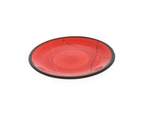 Πιάτο Γλυκού - Κεραμικό, Κόκκινο